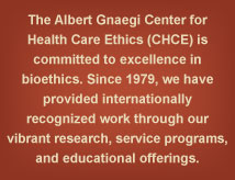 SLU Center for Health Care Ethics Mission